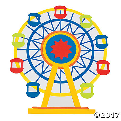 Giant wheel clipart 2 » Clipart Station.