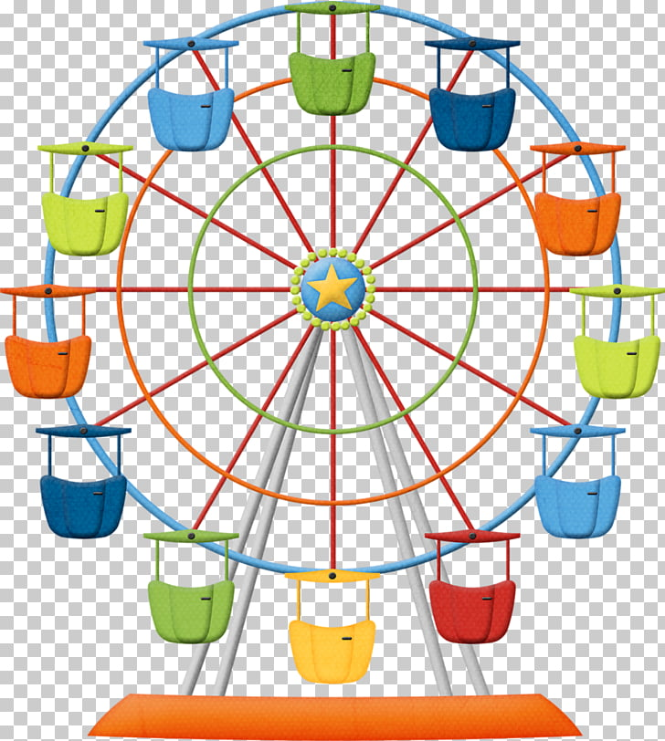 Ferris wheel , giant wheel PNG clipart.