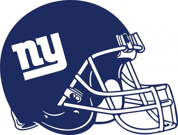 Ny giants helmet clipart 1 » Clipart Station.