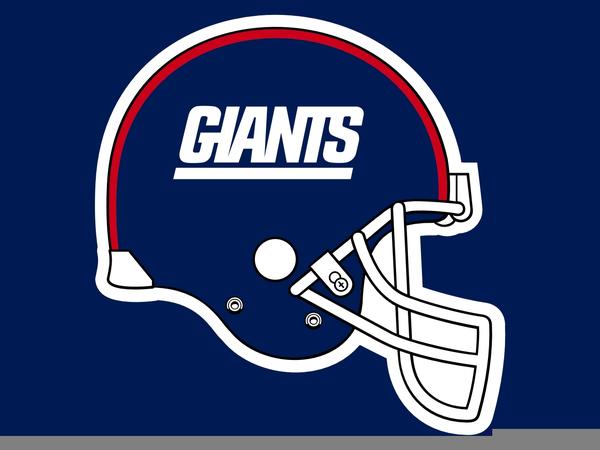 New York Giants Helmet Clipart.