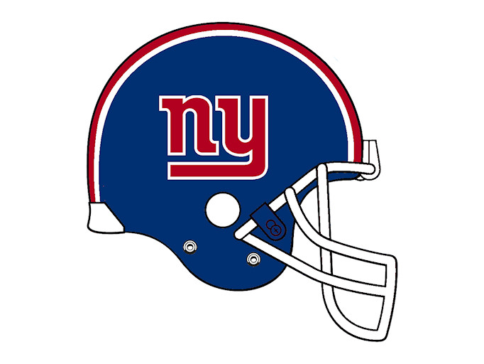 Ny giants helmet clipart » Clipart Station.