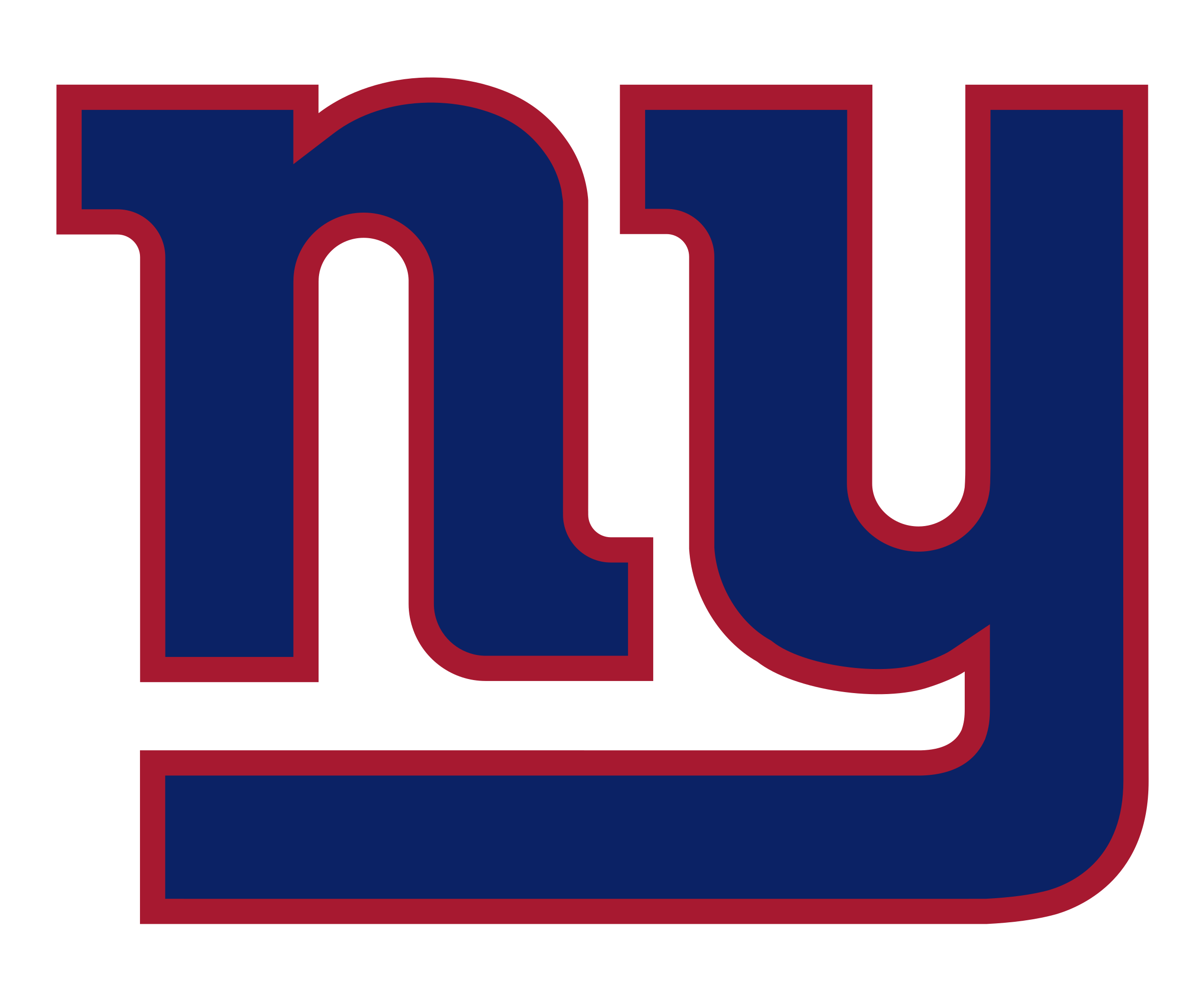 New York Giants Logo PNG Transparent & SVG Vector.