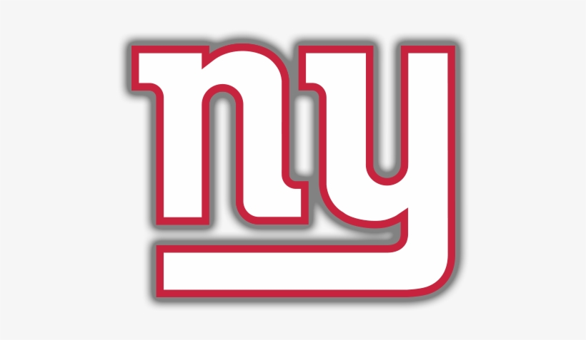 Ny Giants Logo Red And White PNG Image.