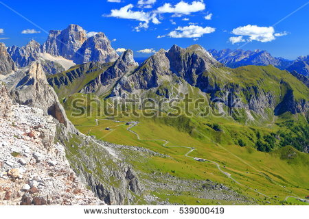 """great Dolomites Road"" Stock Photos, Royalty."