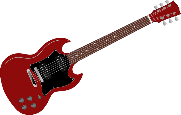 Red Gibson Sg Clip Art at Clker.com.