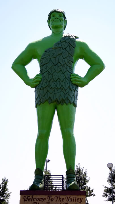 Green giant clipart.