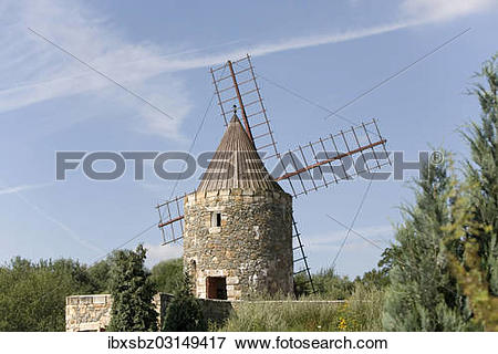 "Picture of ""Windmill, International Wind and Watermill Museum."