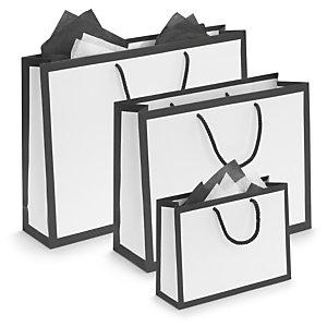 Gift Bag Clipart Black And White.