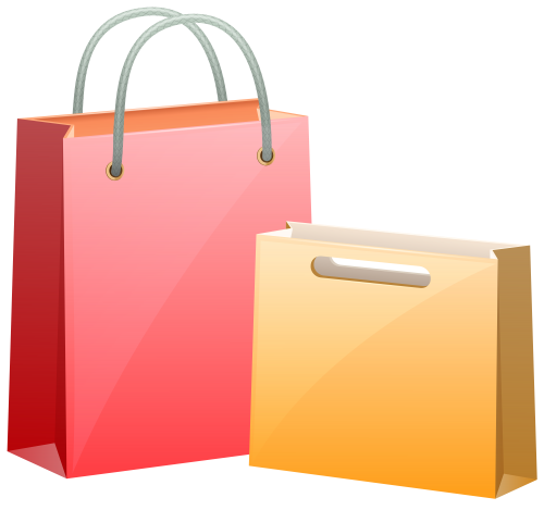 Gift Bags PNG Clip Art.