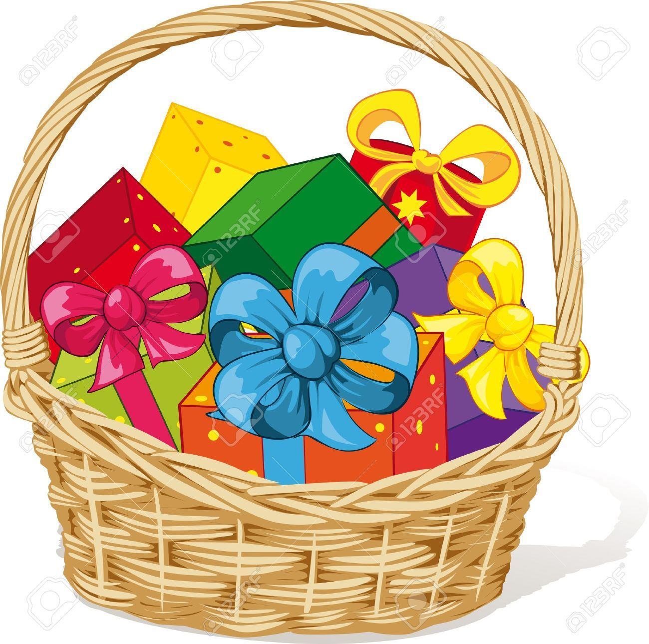 Gift Basket Clipart Clipart Collection Gift Basket, Laundry Basket.
