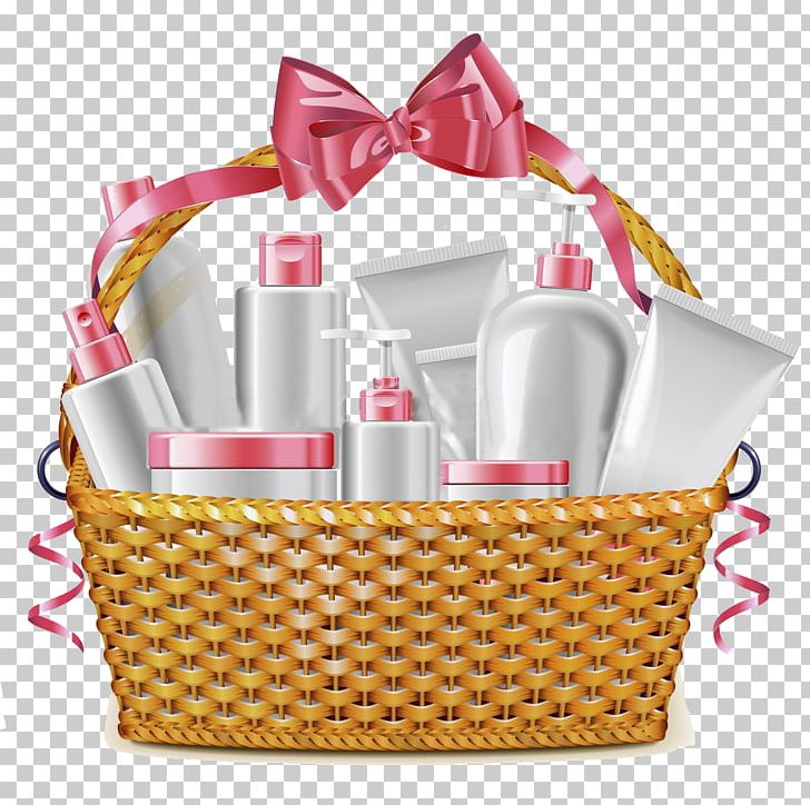 Cosmetics Food Gift Baskets PNG, Clipart, Basket, Baskets.