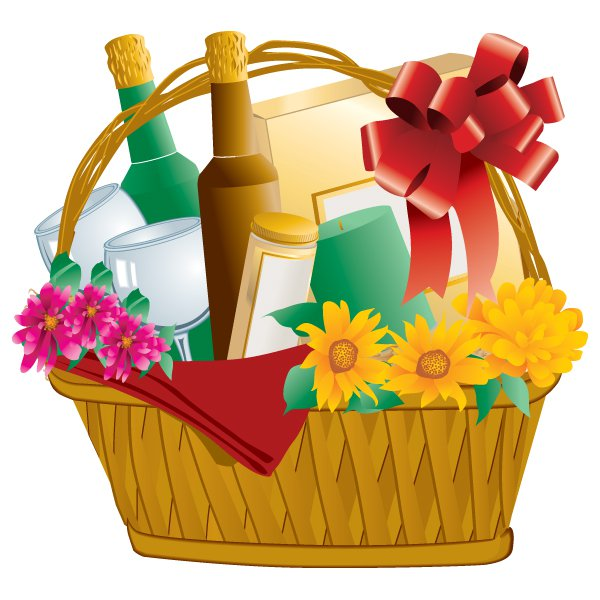 6407 Basket free clipart.