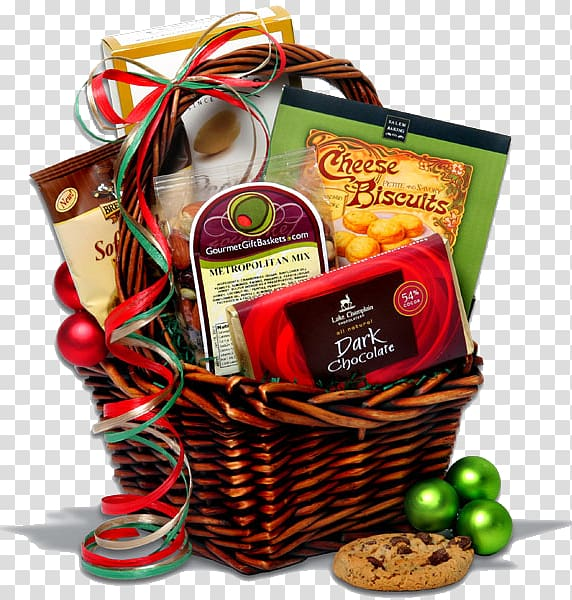 Food Gift Baskets Christmas gift Shopping, gift transparent.