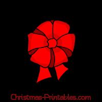 Present Clip Art Christmas Bow Bows Vector. Amigalib.com.