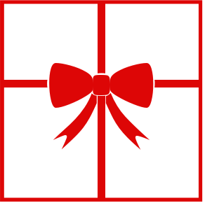 Gift Bows Christmas Clipart.