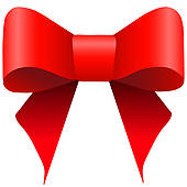 Gift bow clipart.