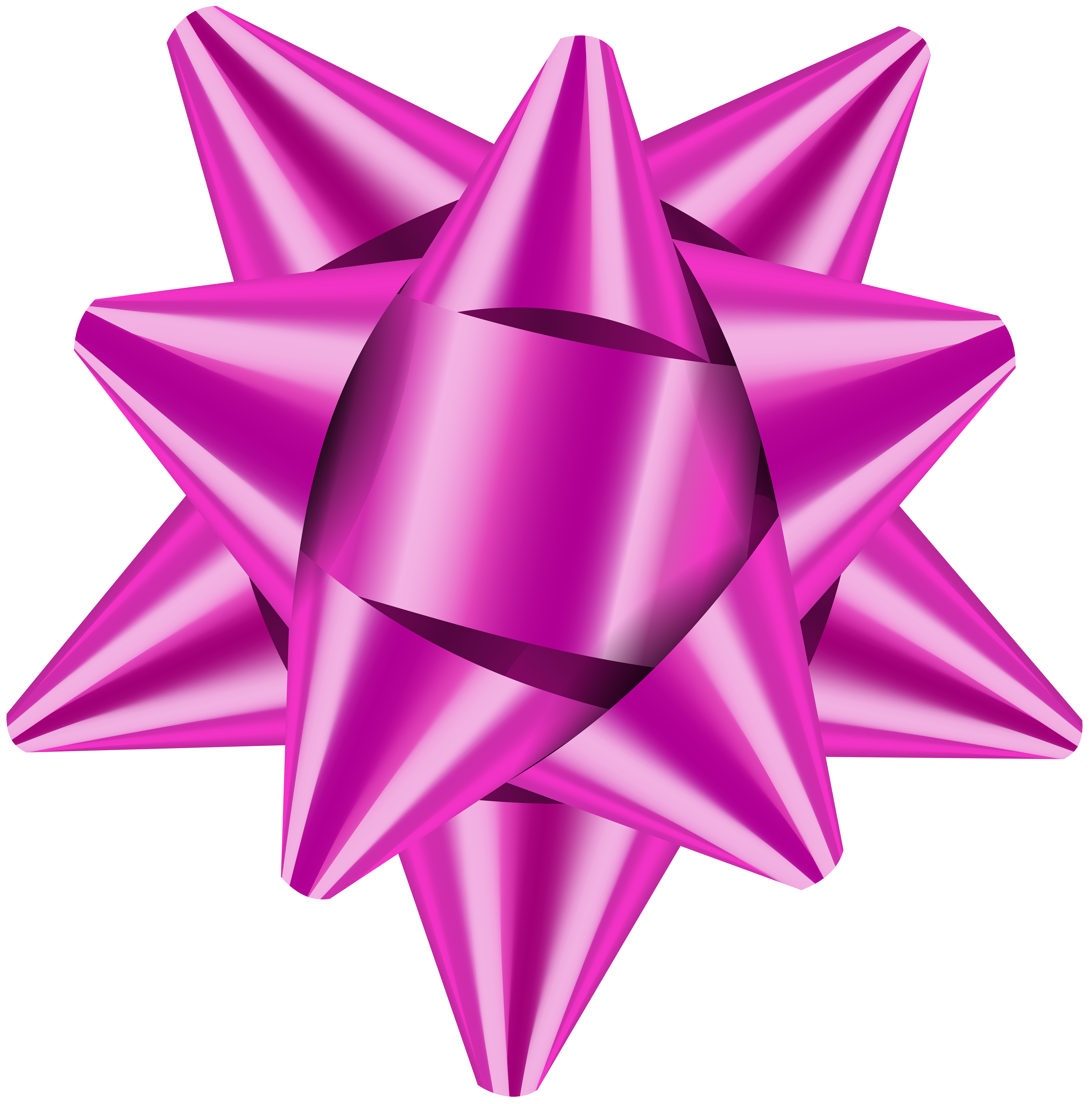 Gift Bow PNG Clip Art Image.