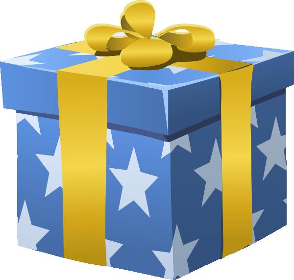 Gift Box Clip Art at Clker.com.