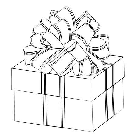 Gift Box Clipart Black And White (101+ images in Collection) Page 2.