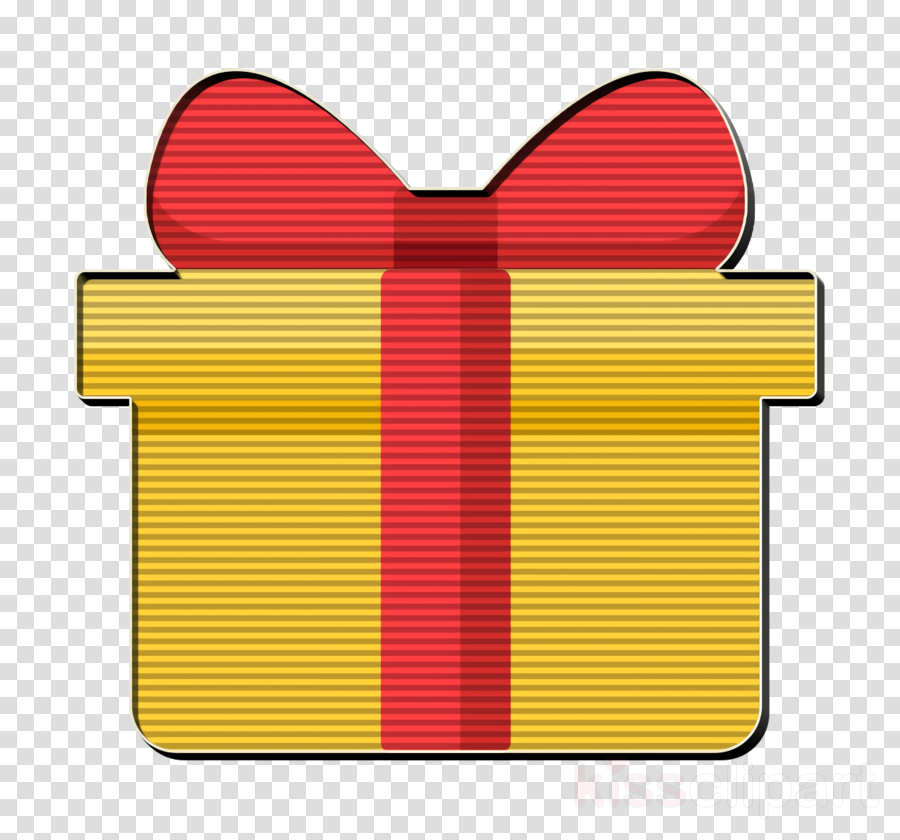 Gift icon Gift box icon Happiness icon clipart.