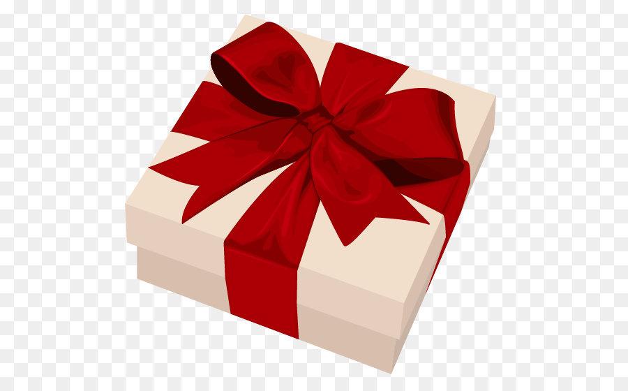 Christmas Gift Box png download.