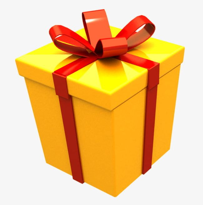 Yellow Gift Box PNG, Clipart, Box, Box Clipart, Boxes, Gift, Gift.