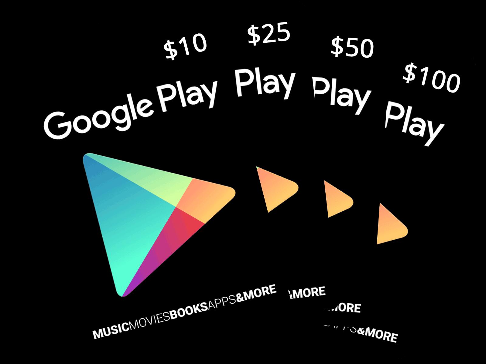 Google Play Cards.