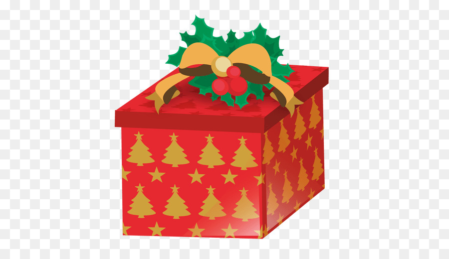 Gift Box Christmas clipart.