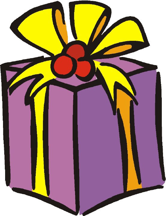Free Christmas Gift Clipart.