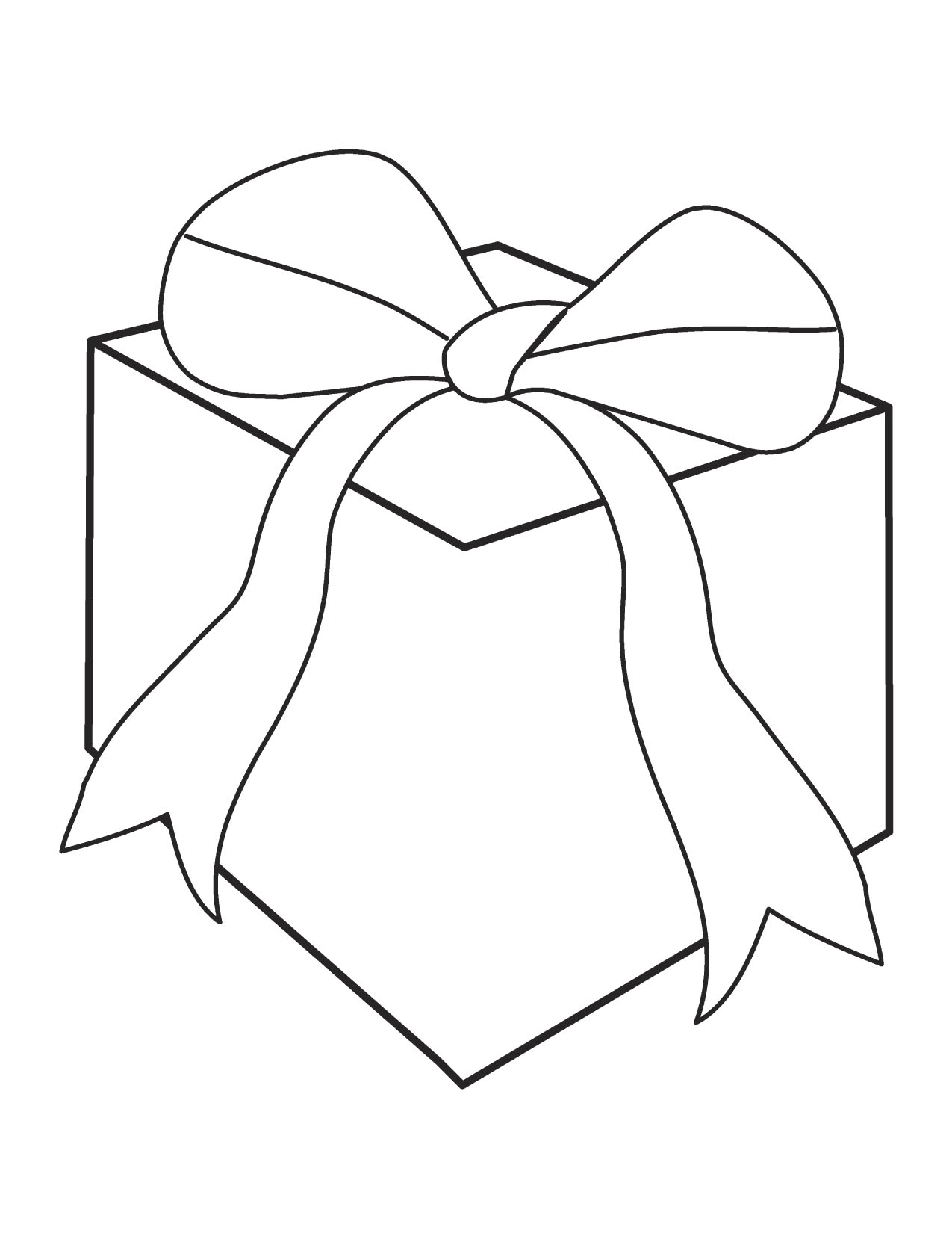 Free Gifts Clipart Black And White, Download Free Clip Art.