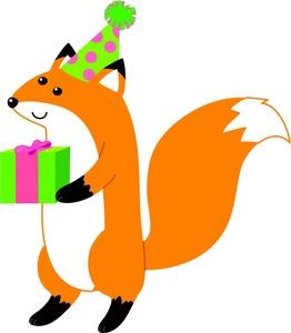 Fox Clipart Image.