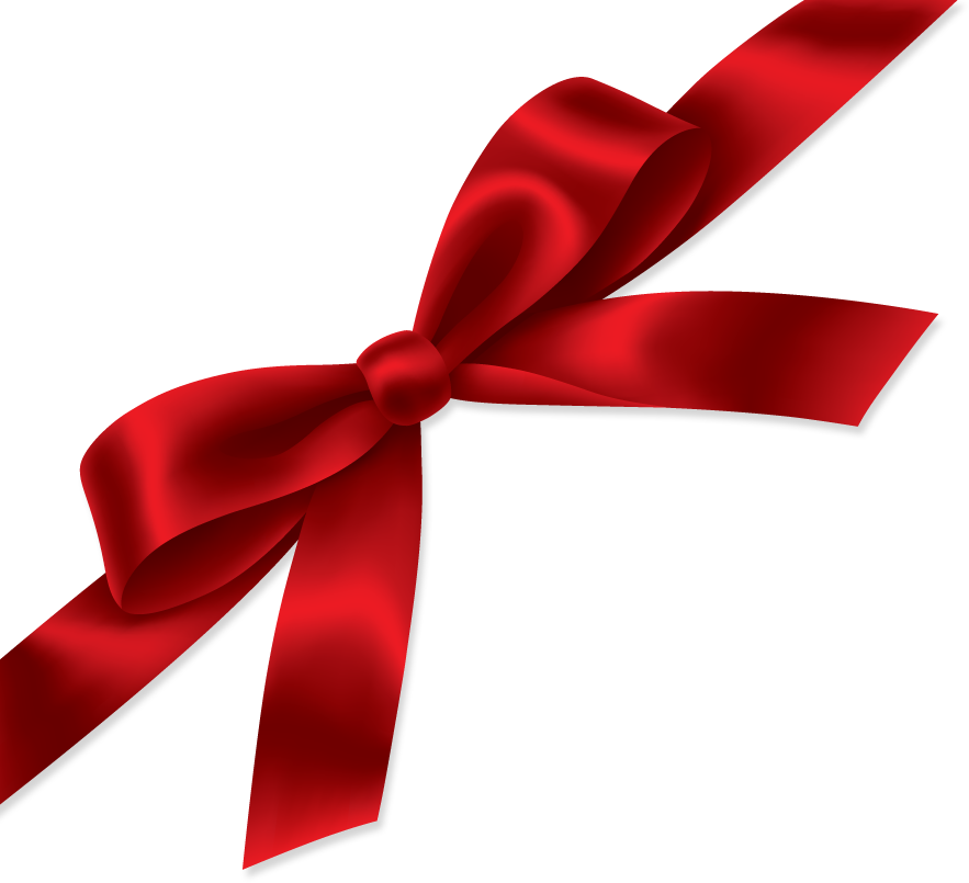 Ribbon PNG images, red gift ribbon, free download pictures.