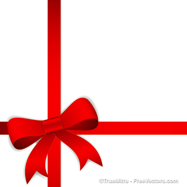Gift ribbon clipart.