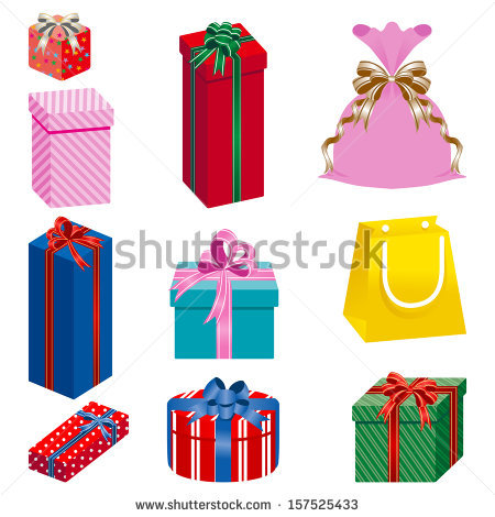 Gift Set Stock Vector 66233734.