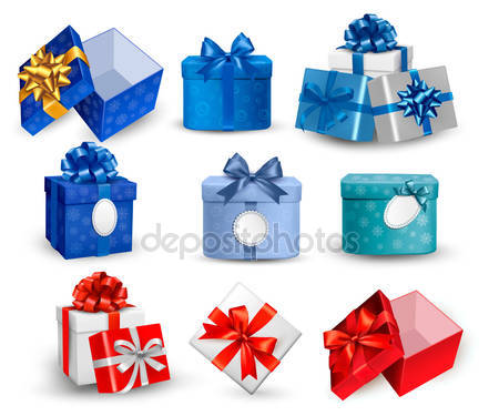 Gifts set Stock Vectors, Royalty Free Gifts set Illustrations.