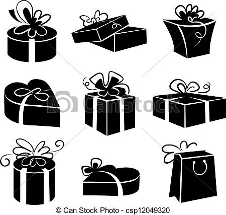 Gift pack clipart.