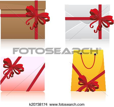 Clipart of Gift Set k20738174.
