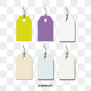 Gift Tag Png, Vector, PSD, and Clipart With Transparent Background.