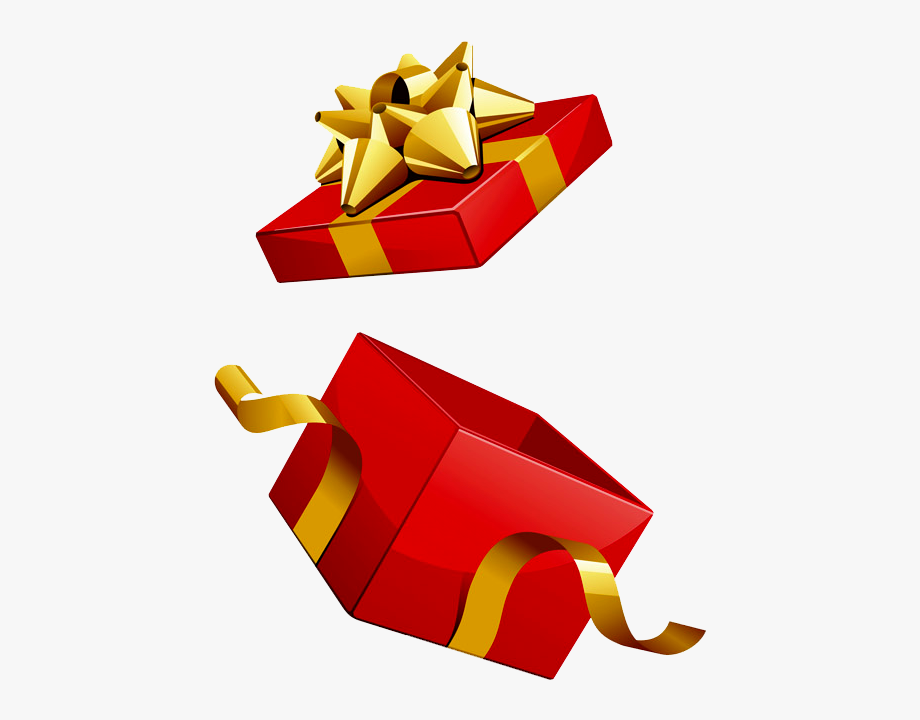 Present Clipart Opened.