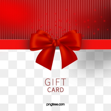Gift Card Png, Vector, PSD, and Clipart With Transparent Background.
