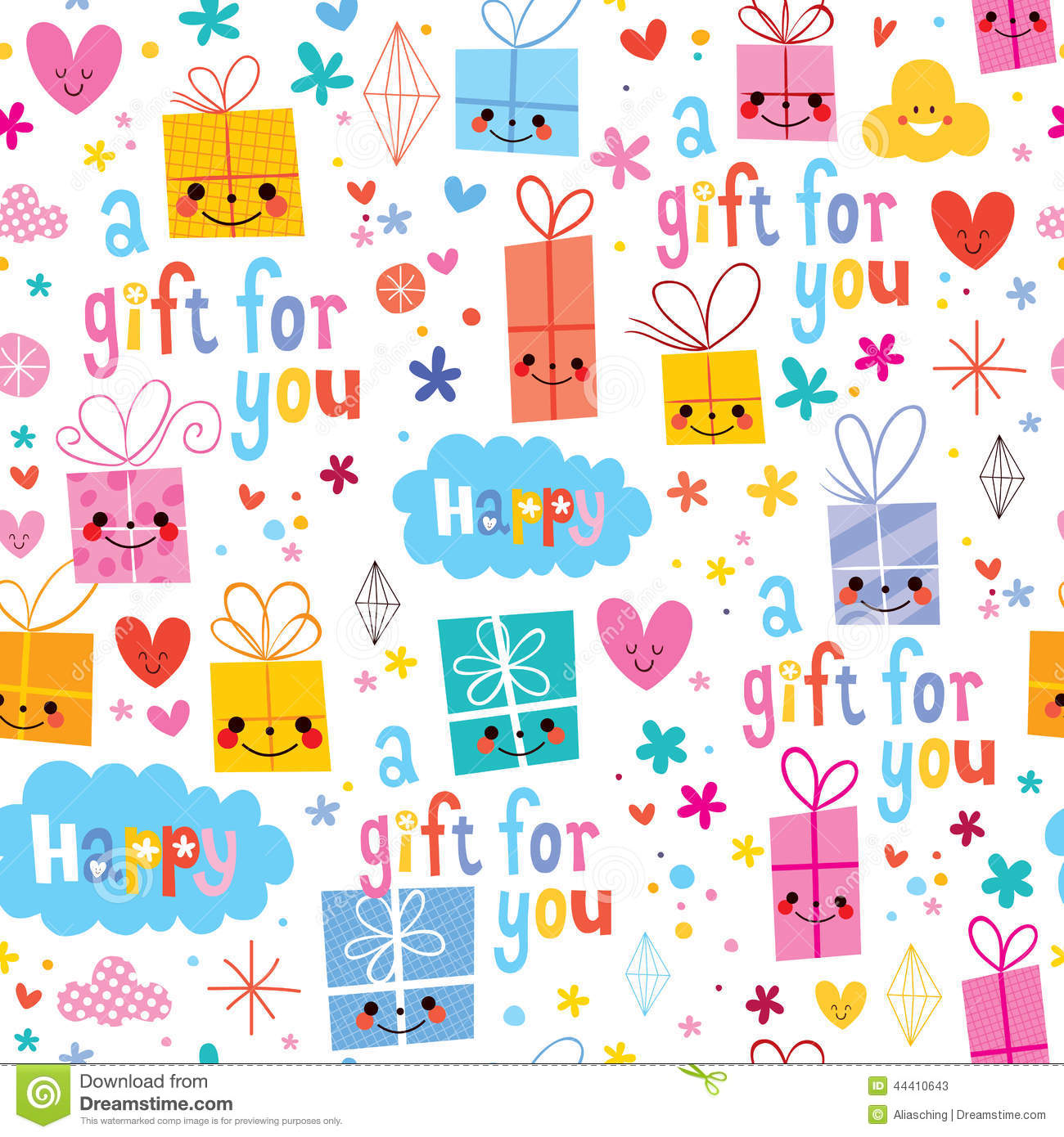 Gift wrap paper clipart clipground for How to wrap presents with wrapping paper