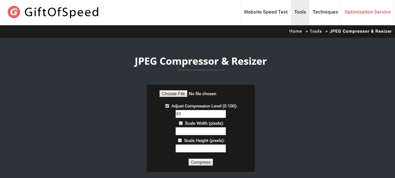 Best Free Image Compression Tools For The Web.