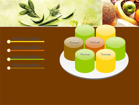 Gifts of Nature PowerPoint Template, Backgrounds.