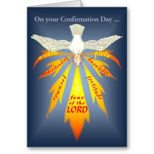 Holy Spirit Confirmation Clip Art.