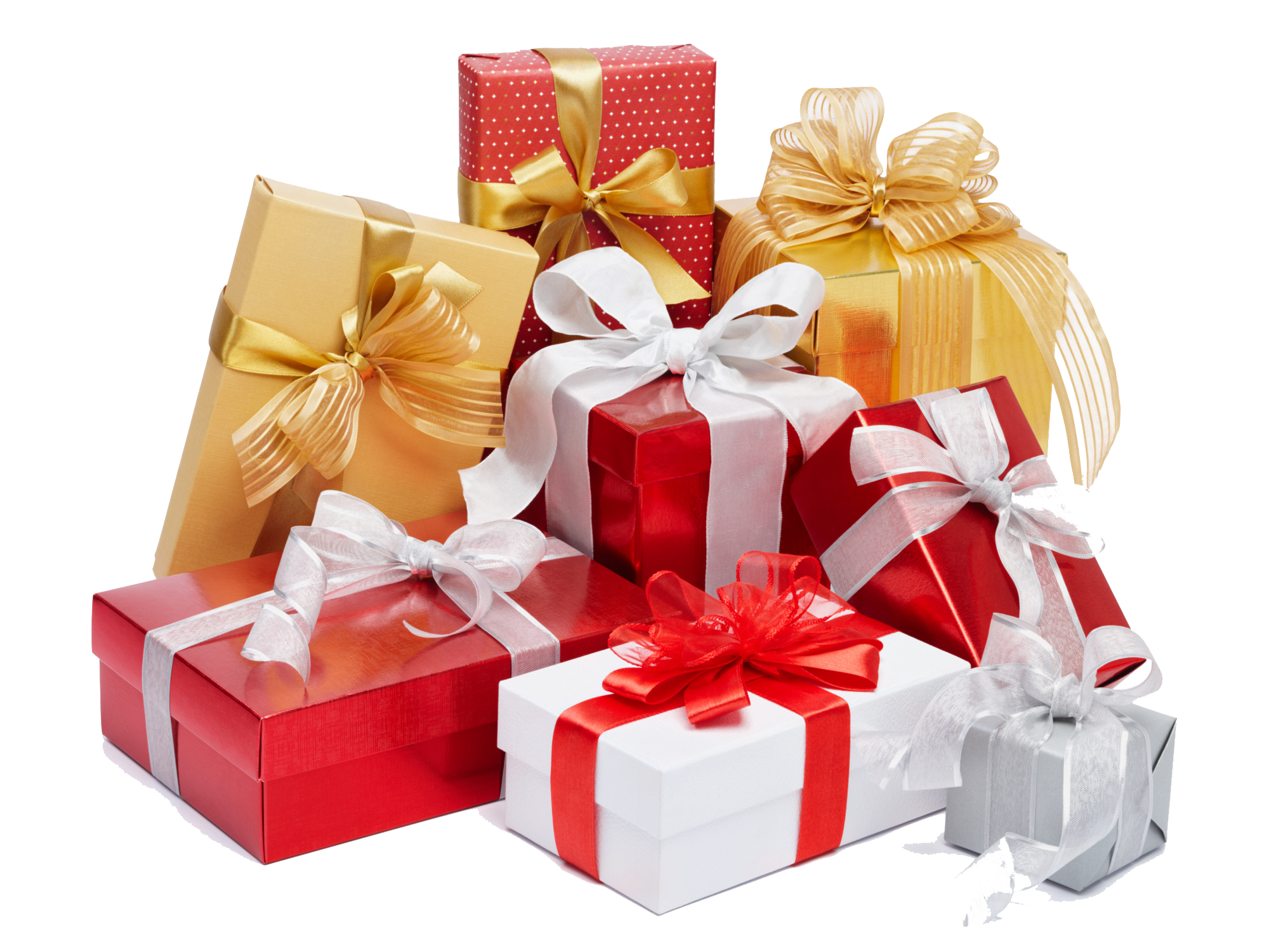 Gifts PNG Free Background.