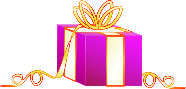 Wrapped Gift Clip Art at Clker.com.