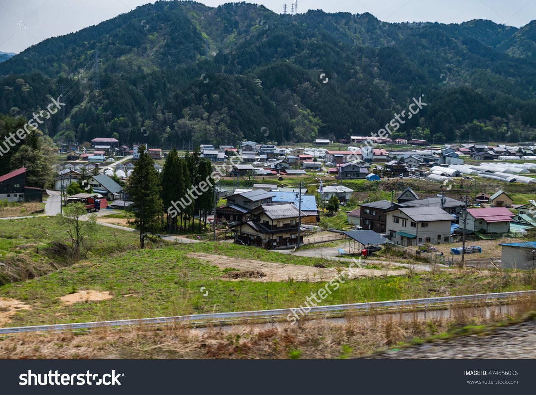 Lanscape Takayama Old Town Takayama City Stock Photo 474556096.