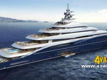 Giga Yachts, Emocean Unveils 200M Gigayacht Design Twisted.
