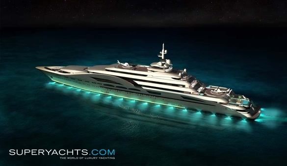 My World Yacht Concept.