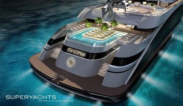 My World Yacht Concept.